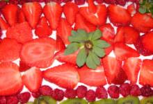 Maasika-toorjuustu tort